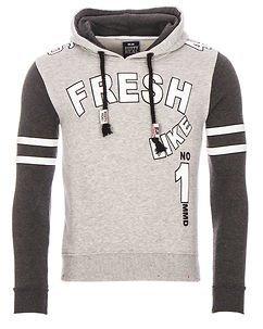 Fresh Hoodie Grey
