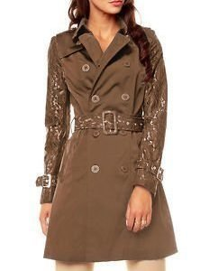 Frida Trench Brown