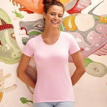 Fruit of the Loom Lady-Fit Crew Neck T