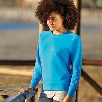 Fruit of the Loom Lady-Fit Light Raglan Sweat