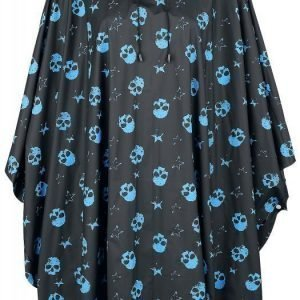Full Volume By Emp Allover Skulls Cape Poncho