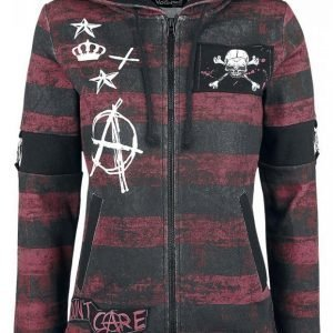 Full Volume By Emp Anarchy Hoodie Jacket Naisten Vetoketjuhuppari