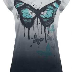 Full Volume By Emp Big Butterfly Shirt Naisten T-paita