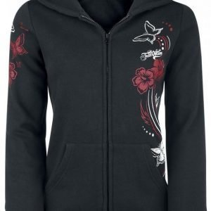 Full Volume By Emp Butterfly Hoodie Jacket Naisten Vetoketjuhuppari