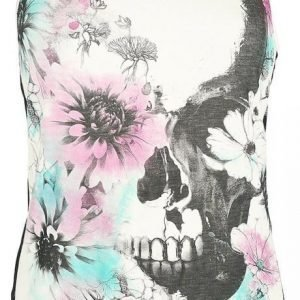 Full Volume By Emp Flower Skull Top Naisten Toppi