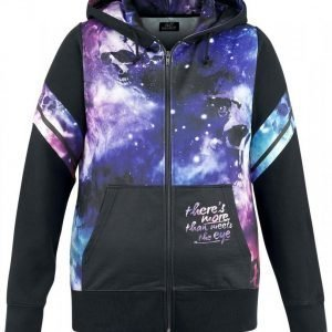 Full Volume By Emp Galaxy Hoodie Jacket Naisten Vetoketjuhuppari