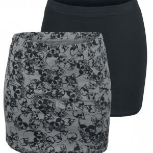 Full Volume By Emp Ladies Skirts 2 Kpl Setti Lyhyt Hame