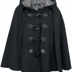 Full Volume By Emp Skull Cape Poncho