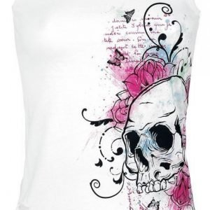 Full Volume By Emp Skull Cut Out Top Naisten Toppi