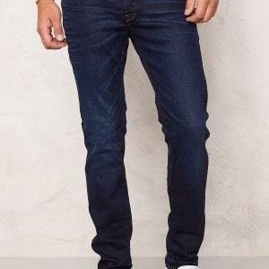 G-Star 3301 Slim Jeans Blue Aged Denim