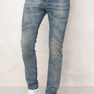 G-Star 3301 Slim Jeans Medium Aged Denim