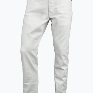 G Star 3301 Tapered Inza White Stretch Denim Farkut