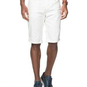 G-Star 3301 Tapered Short Inza White Stretch Denim
