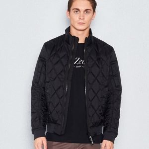 G-Star Batt Quilted Bomber black