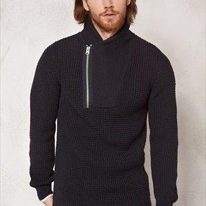 G-Star Filler aero knit l/s Black/mazarine blue