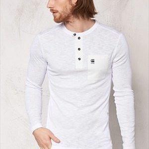 G-Star Mazuren Slim Grandad l/s White