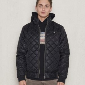 G-Star Meefic Quilted Jacket Black