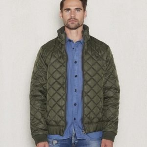 G-Star Meefic Quilted Jacket Green