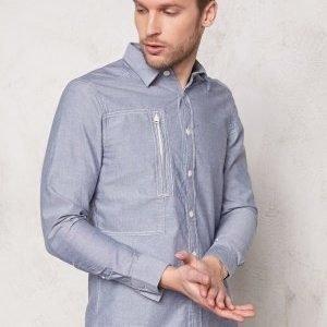 G-Star Powel 3D Shirt l/s 3048 Swedish Blue