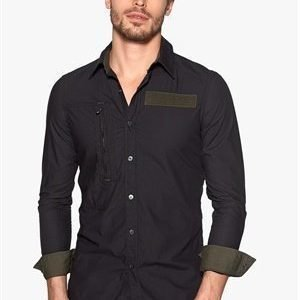 G-Star Powel 3d Shirt 990 Black