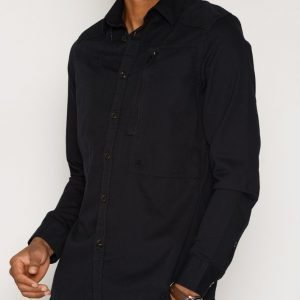 G-Star Powel Shirt Kauluspaita Musta
