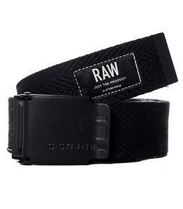 G-Star Raw Black Webb Belt