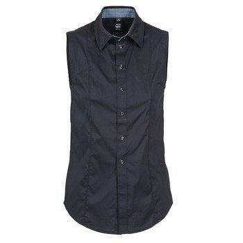 G-Star Raw CORE SLIM SHIRT WMN S/LESS paitapusero