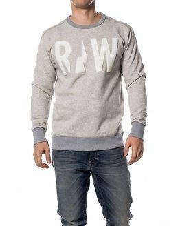 G-Star Raw Grount Sweat Grey