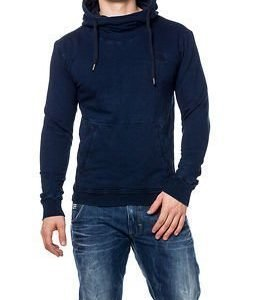 G-Star Raw Indigo Tunnel Aged Hooded Sweat Dark Aged