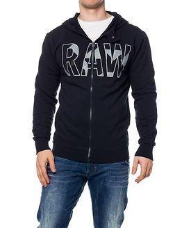 G-Star Raw Moiric Hooded Sweat Mazarine Blue