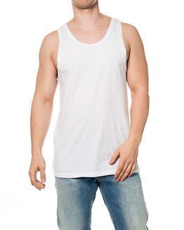 G-Star Raw Tezmed Long Tank Top White