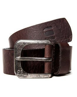 G-Star Raw Zed Belt Dark Brown