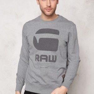 G-Star Resap l/s Sweater 6071 Platinum