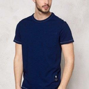 G-Star Rinep Pocket s/s T-shirt 89 dk Aged