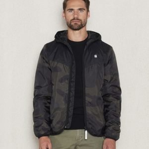 G-Star Setscale Hooded Jacket Asfalt Carbon AO