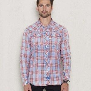 G-Star Tacoma Shirt Indigo Check