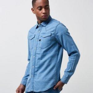 G-Star Tacoma Shirt Indigo Light Age Check