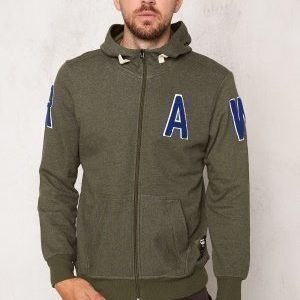 G-Star Warth Hooded Sweat dk bronze Green