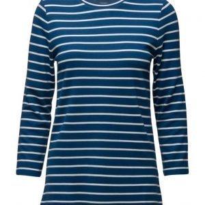 GANT Breton Stripe T-Shirt 3/4 Sleeve