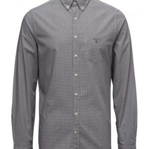 GANT Broadcloth Gingham Fitted Round Bd