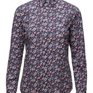 GANT Broadcloth Stretch Seashore Blossom pitkähihainen paita