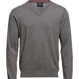 GANT Cotton Wool V-Neck v-aukkoinen neule