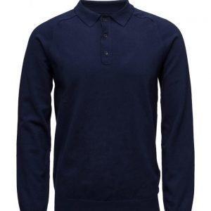 GANT G. Cotton Cashmere Poloshirt pitkähihainen pikeepaita