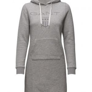GANT Gant Shield Hoodie Dress lyhyt mekko