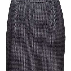 GANT O1. Micro Pattern Jersey Skirt lyhyt hame