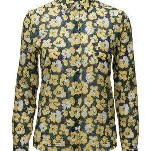 GANT O1. Voile Vivid Flower Shirt pitkähihainen paita