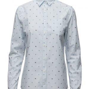 GANT O2. Fil Coupe Foulard Stripe Shirt pitkähihainen paita