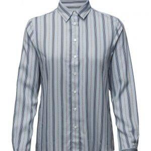 GANT O2. Stripe Horse Chain Print Shirt pitkähihainen paita