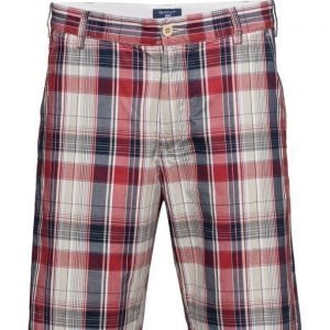 GANT O3. Regular Madras Shorts bermudashortsit