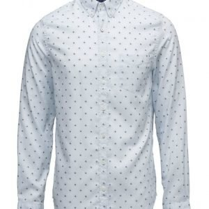 GANT Oxford Dobby Jaquard Fitted Spread